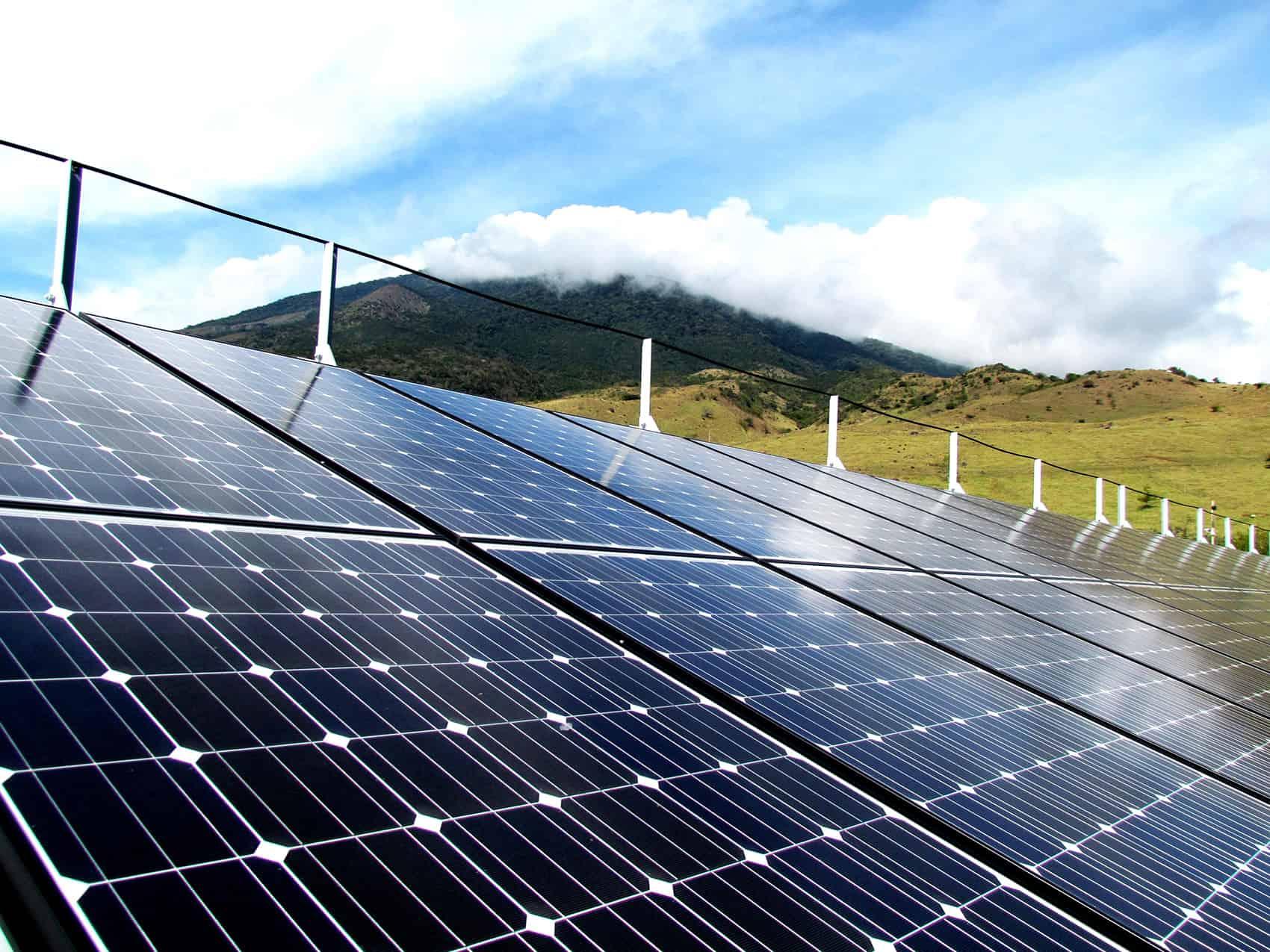 Solar panels, Costa Rica