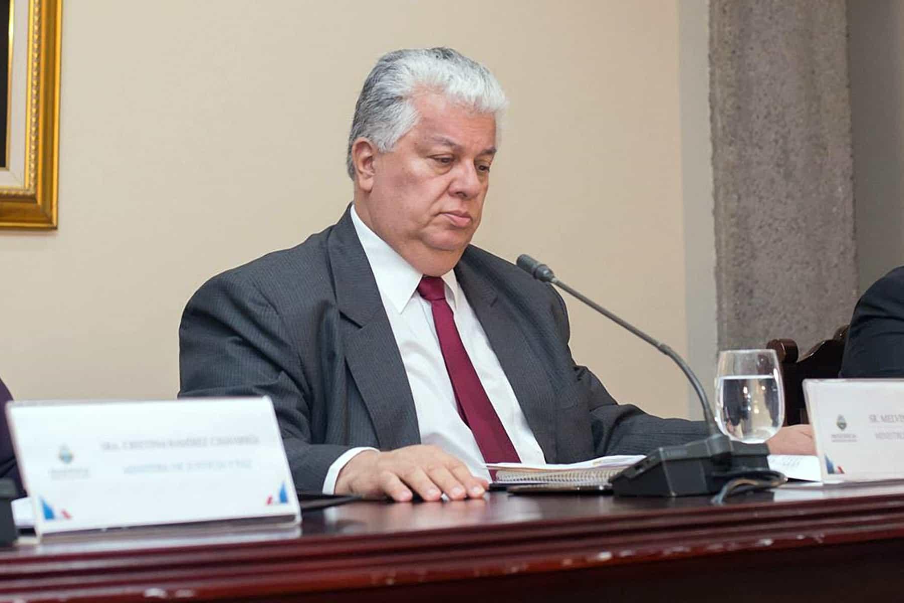 Ex Presidency Minister Melvin Jiménez Marín