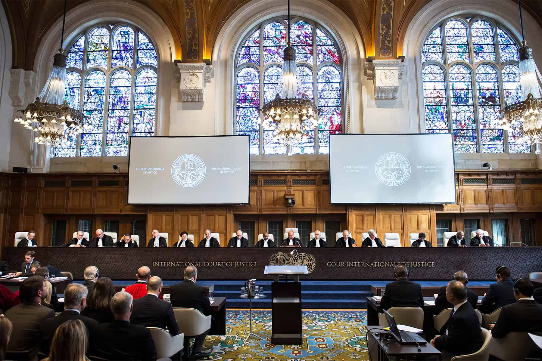 International Court of Justice, The Hague, Netherlands
