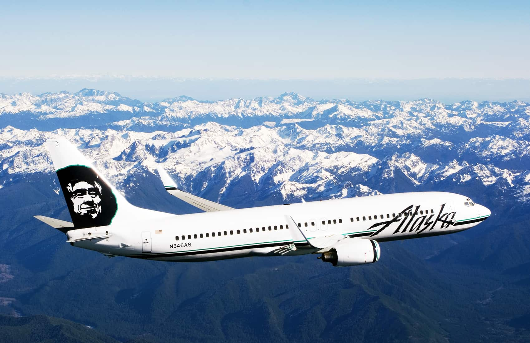 Alaska Air Boeing 737 Airliner