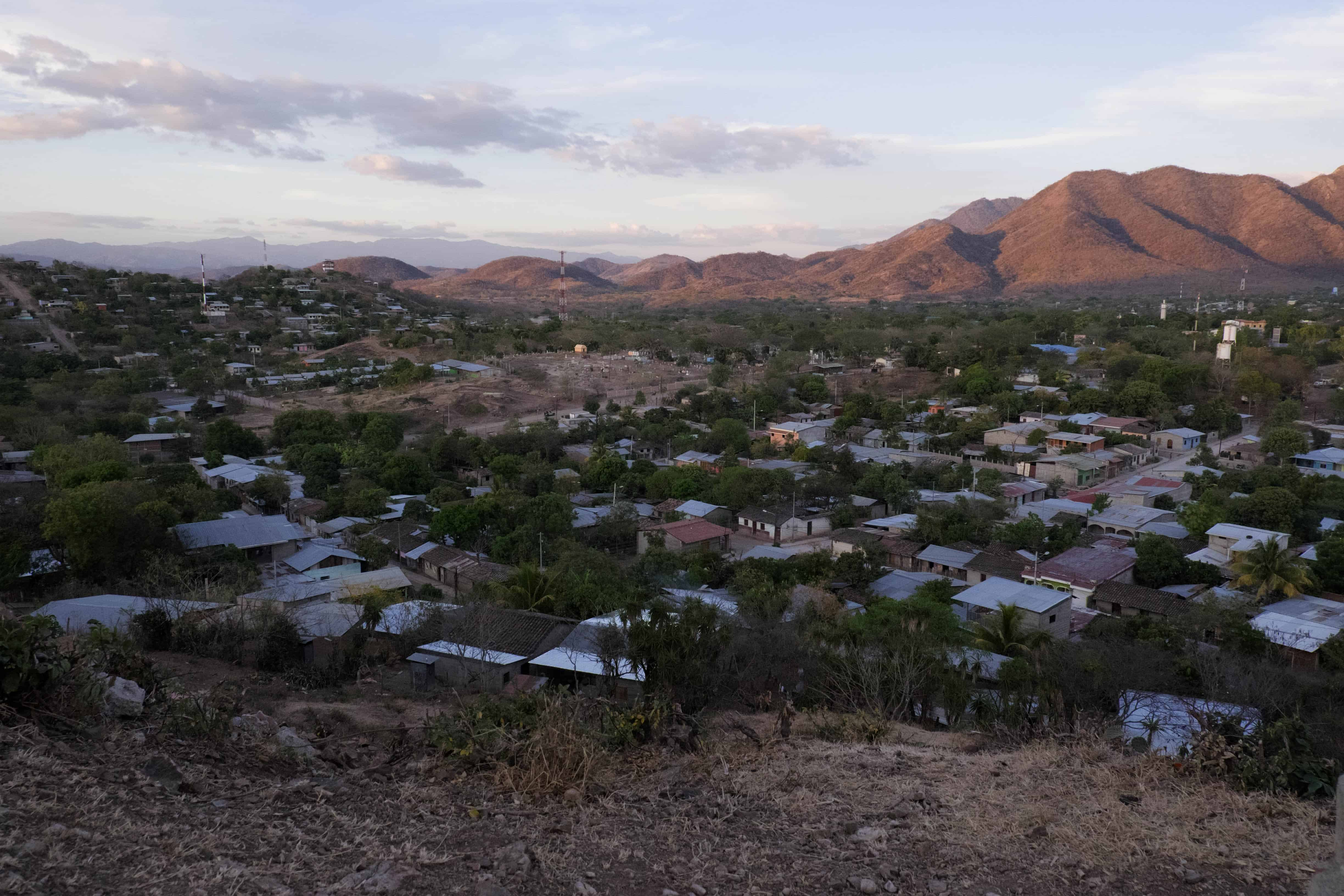 Overlooking the town of Somoto, Nicaragua, near the Honduran border, April 2015.