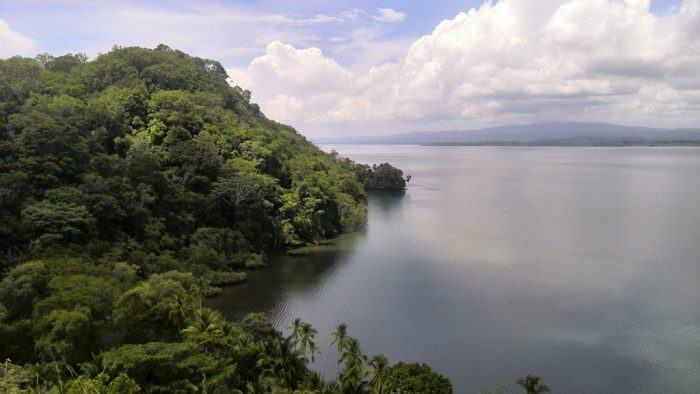 Titled maritime property in the Golfo Dulce forestry reserve, Bahia Chal.