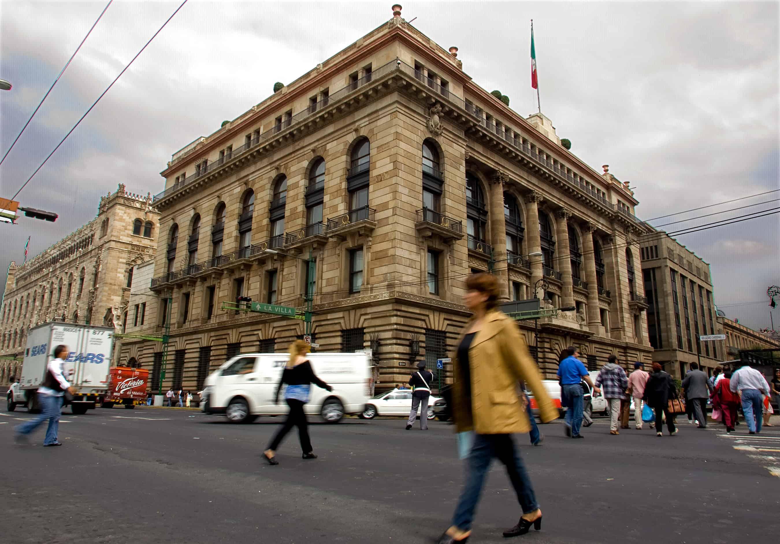 Mexico economy: Mexico's Central Bank.