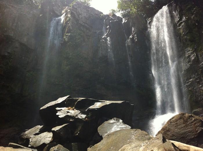 The upper Nuayaca falls.