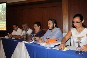 Luis Carlos Boub at CENIDH and CEJIL forum.