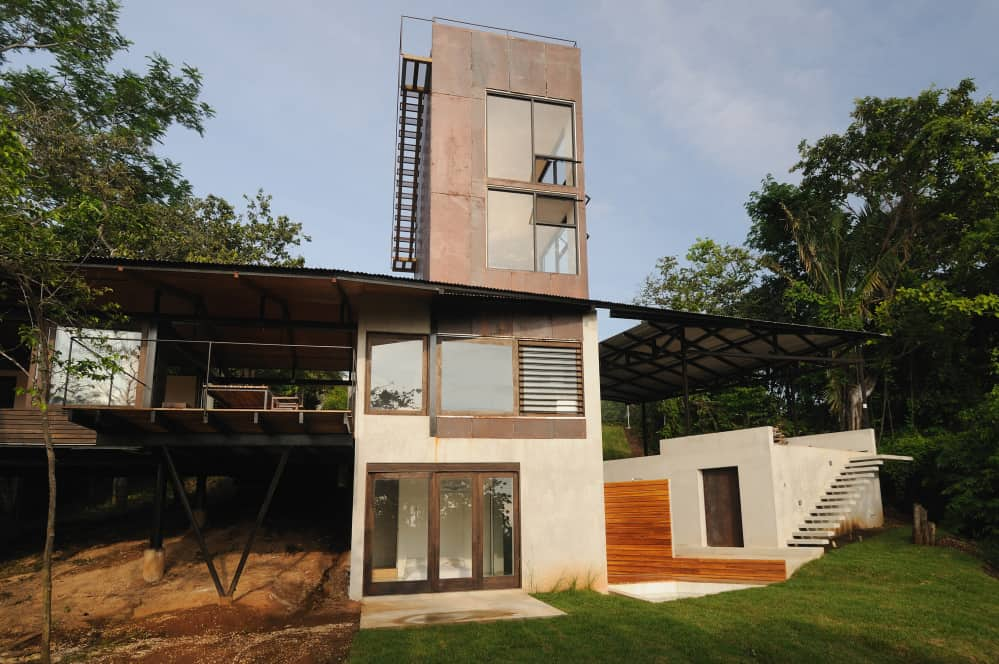 A Costa Rican home designed with sustainability in mind.