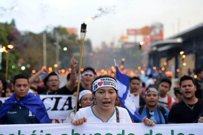 Honduras protest | MACCIH