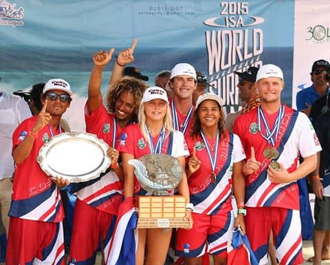 Costa Rica's dream team is the 2015 World Champion.