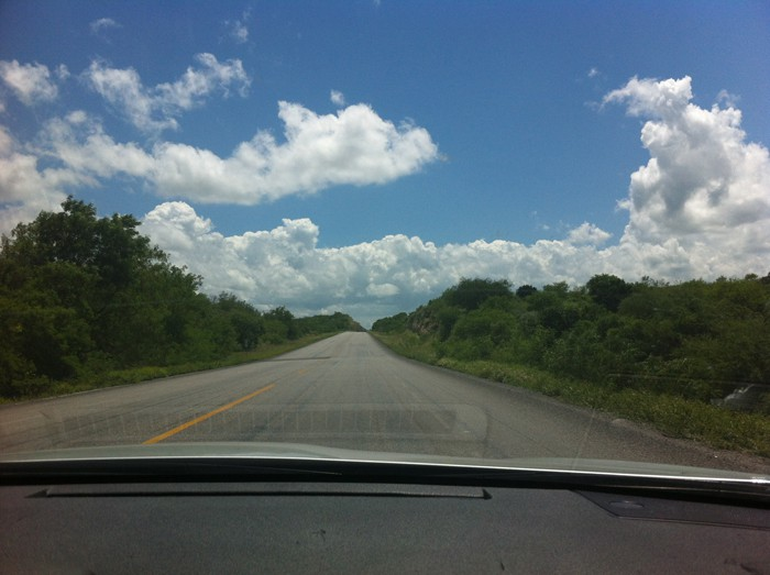 Mexico: The open road.