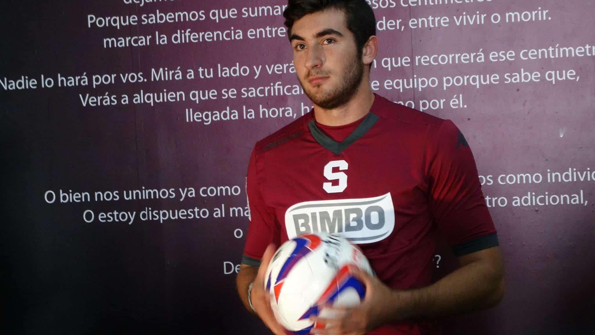 Ramón Martin del Campo, Saprissa's new defender.