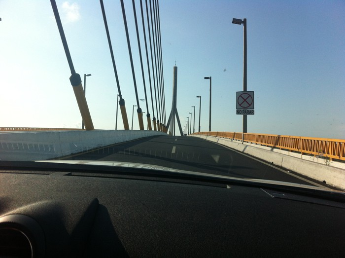 A bridge in Tampico.