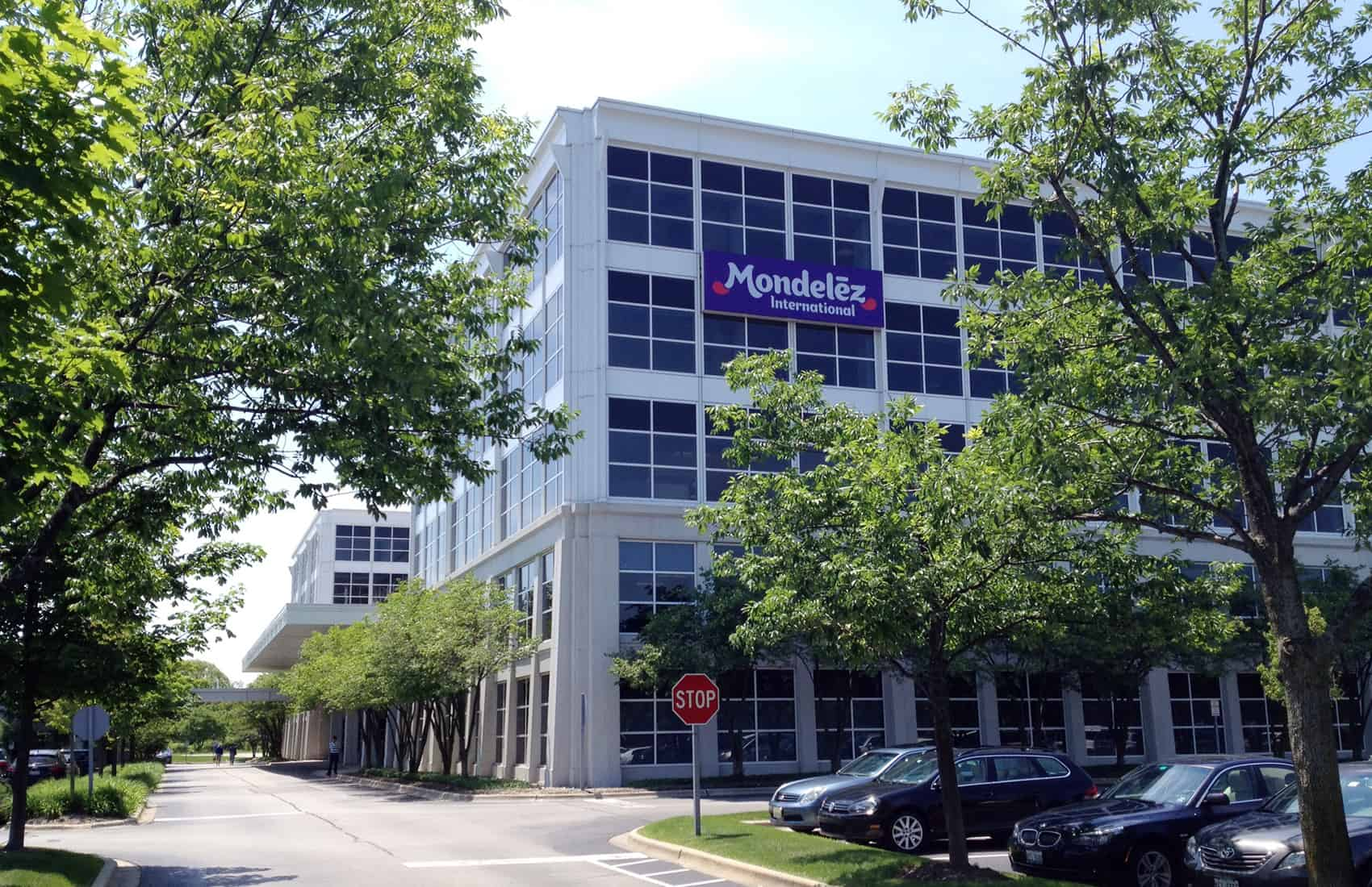 Mondelēz headquarters in Deerfield, Illinois.