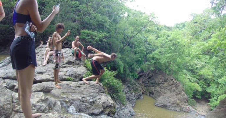 Montezuma waterfall: Leap if you dare