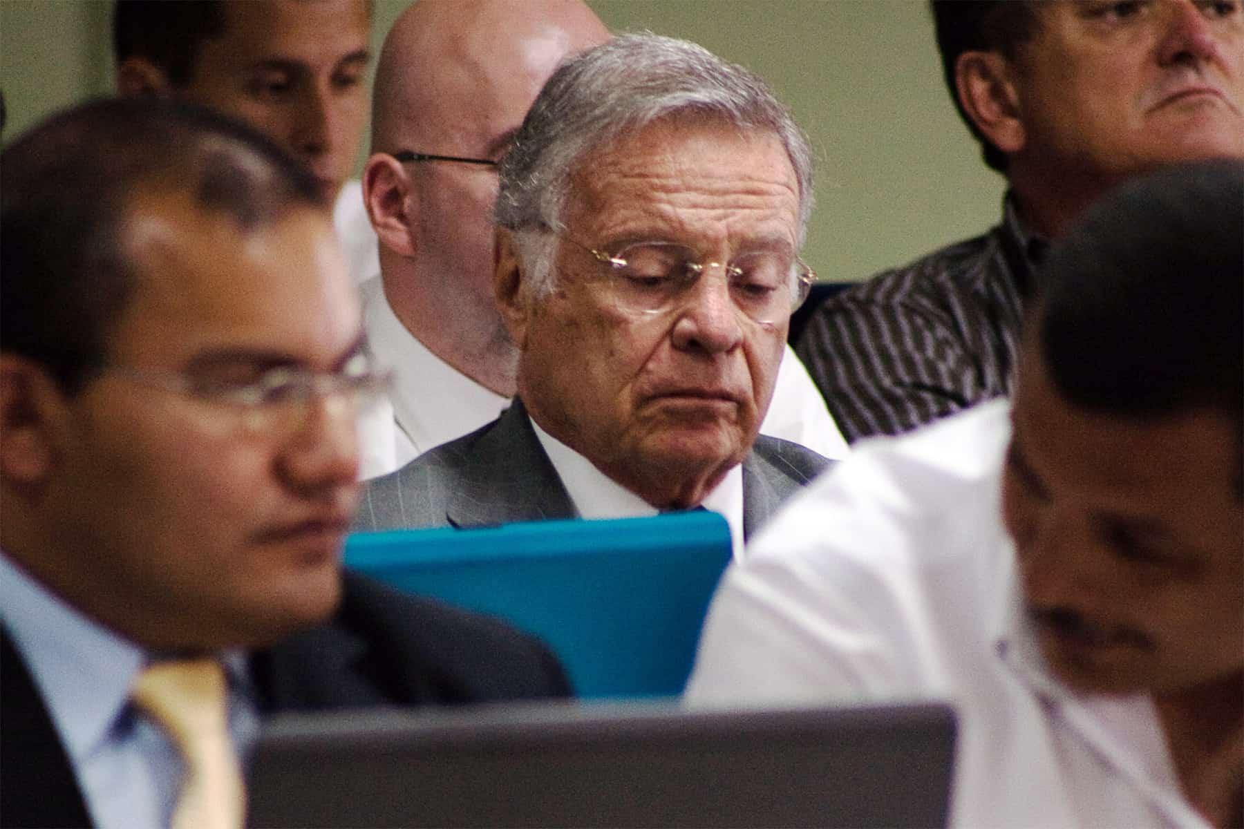 Ex president Miguel Ángel Rodríguez