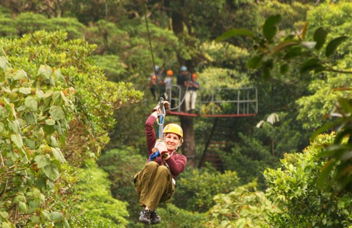 Cantones like Sarapiquí, noted for its canopy tours, suffered huge losses as a result of the severe weather in the area.