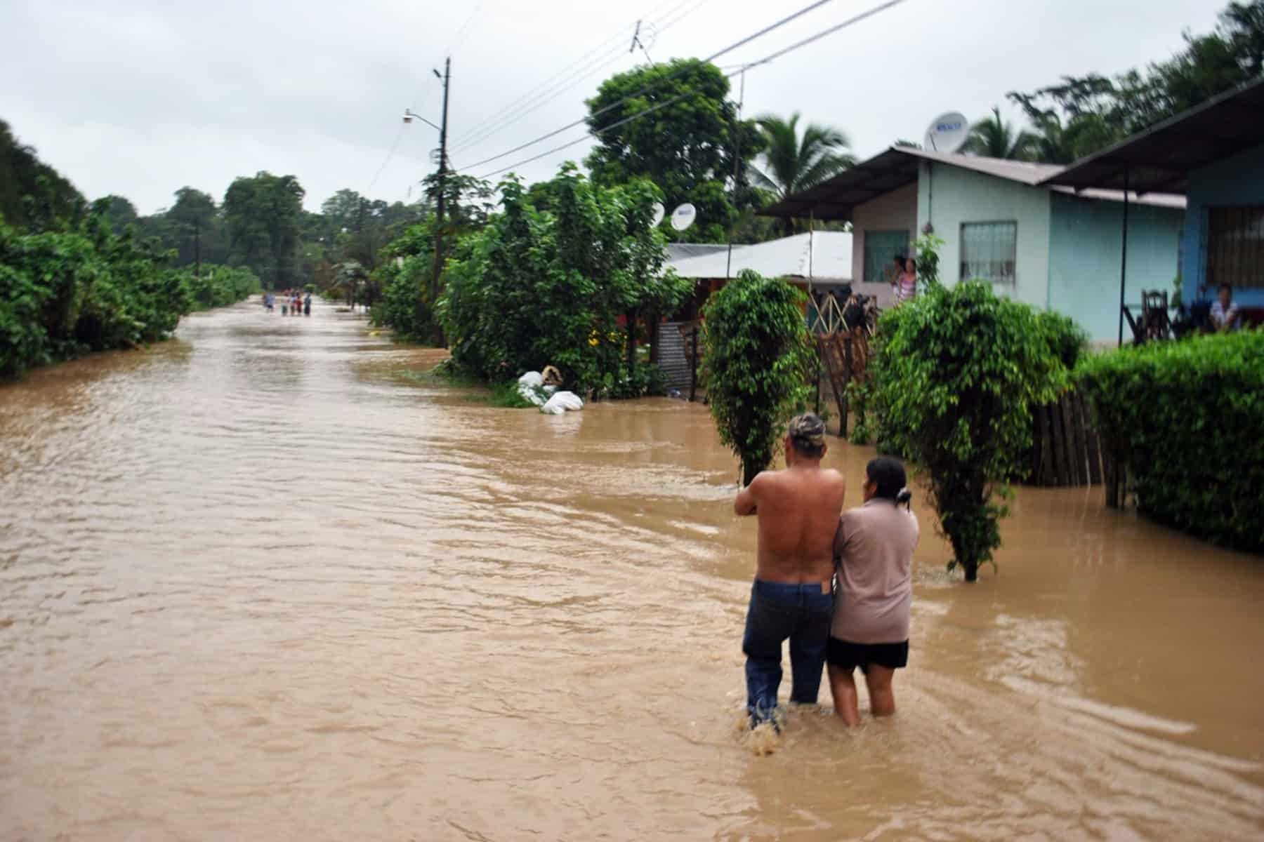 Flooding in Limón, July 6, 2015