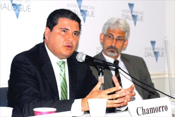 Juan Sebastián Chamorro, executive director of FUNIDES.