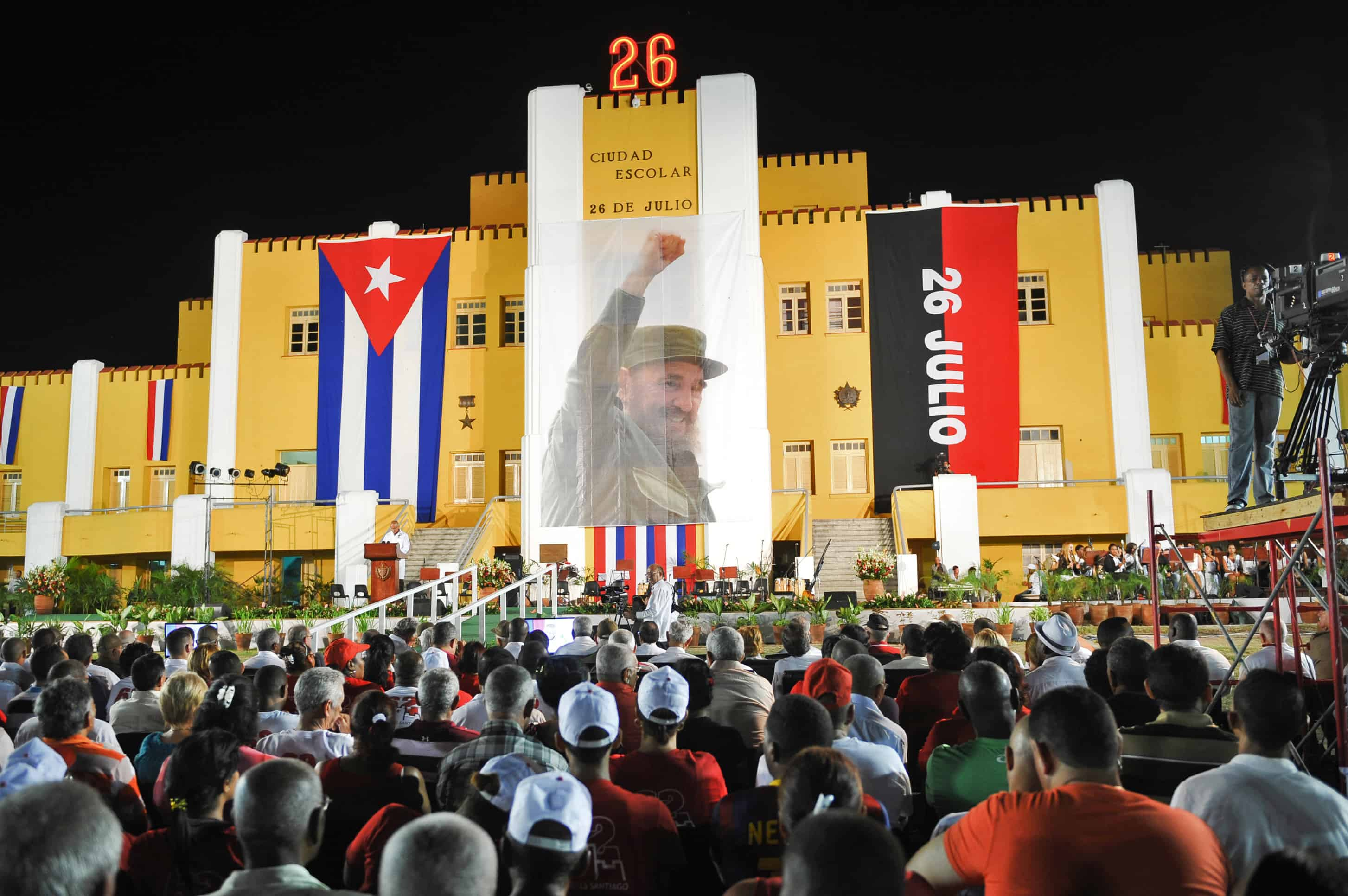 Celebrations mark the 62nd anniversary of the guerrilla assault on the Moncada Barracks.