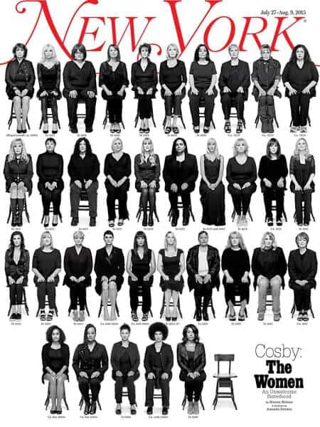 For a cover story this week, New York magazine interviewed and photographed 35 of Cosby's alleged victims