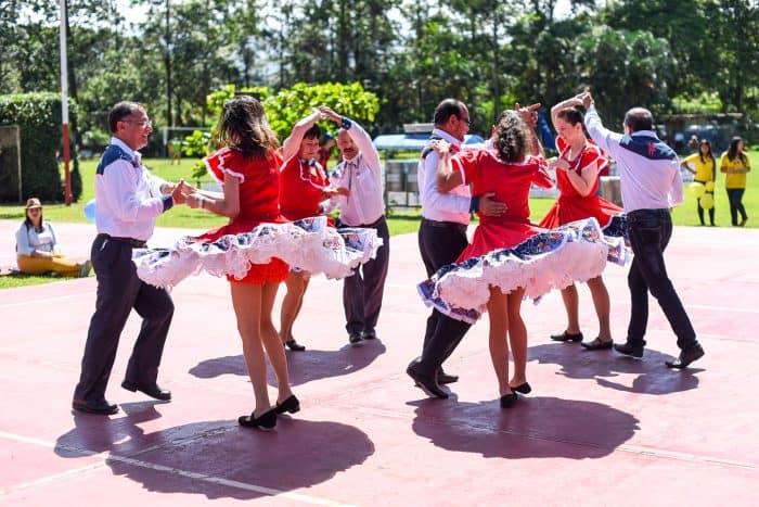 A long-held tradition, square dancing is a highlight of every 4th of July picnic.
