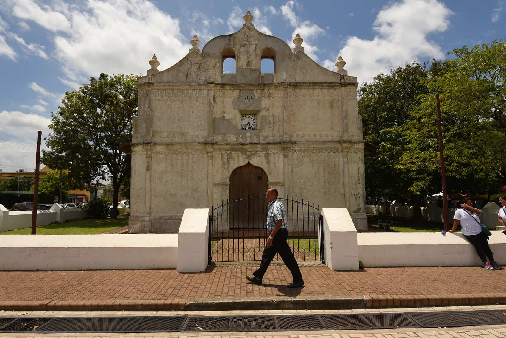 Nicoya's iconic colonial church is more than 400 years old.