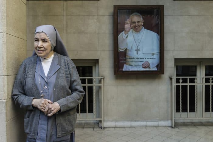 Sister Martha Rabino, 74, the mother superior of the convent that ran the Misericordia Institute.