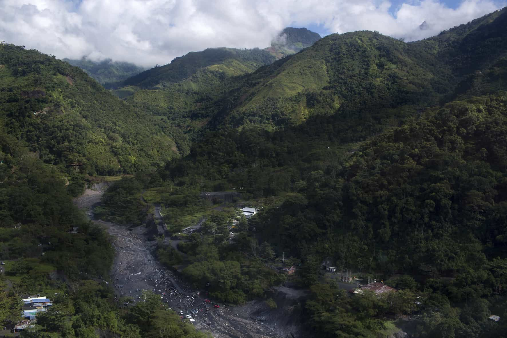 This part of Muzo, Colombia, shown on July 24, 2015 is where Minería Texas Colombia, a U.S. emerald mining company, owns the rights to the subsurface. The company purchased the mine from emerald czar Victor Carraza in 2013.