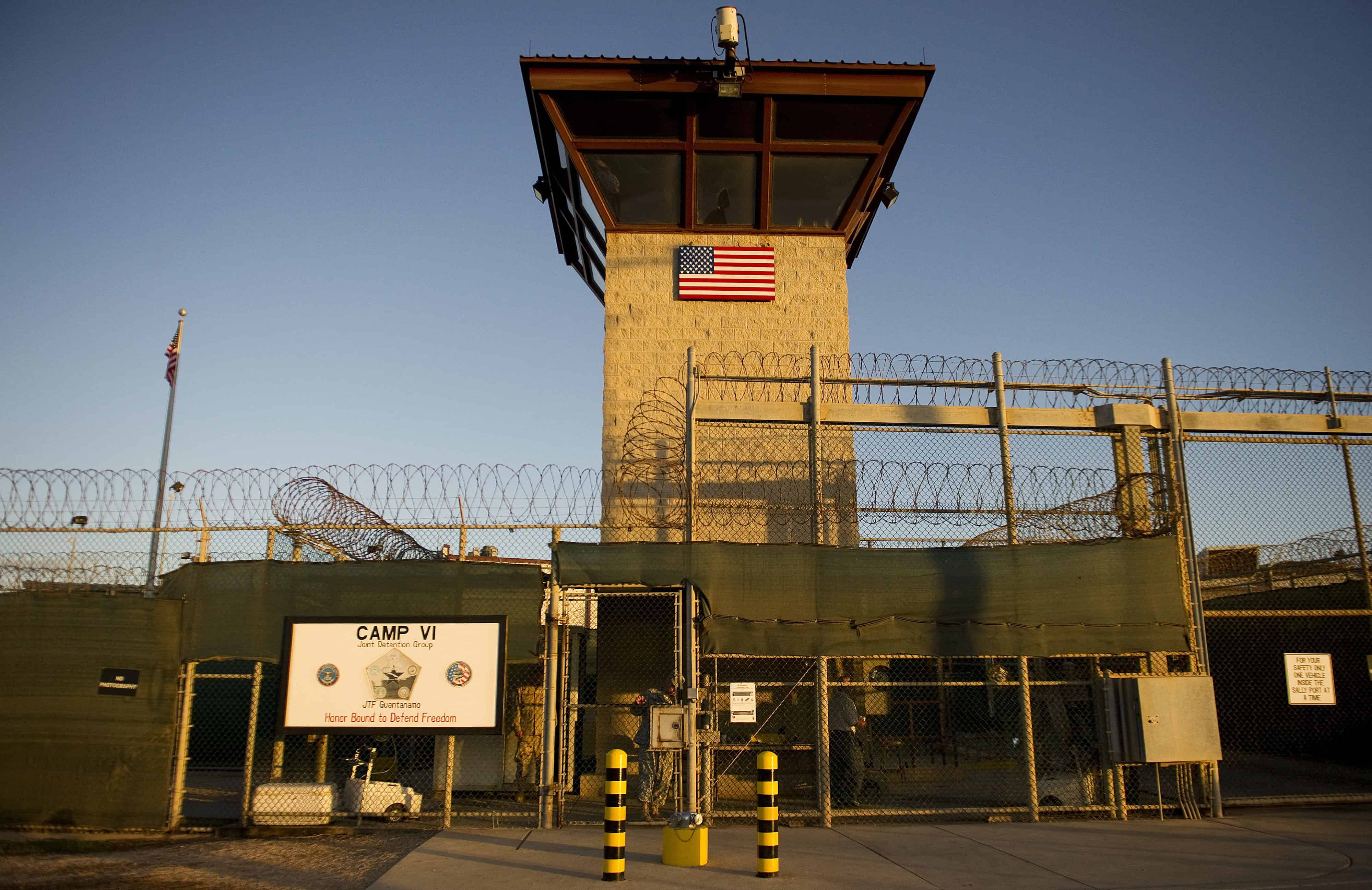 """""""Camp Six"""" detention facility at the U.S. Naval Station in Guantanamo Bay, Cuba."""