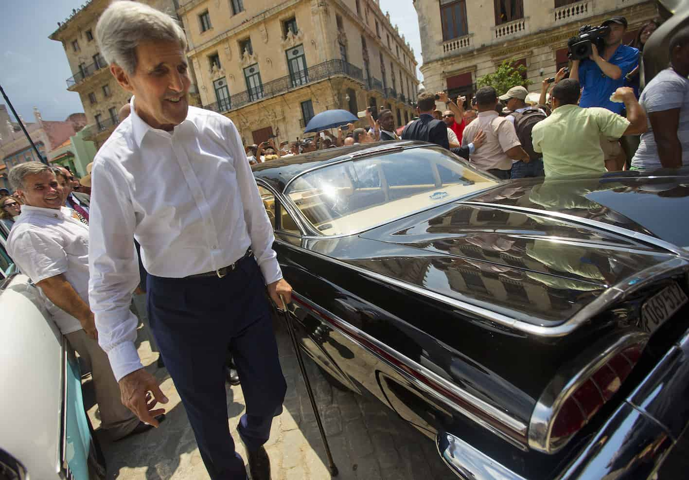 U.S. Secretary of State John Kerry in Cuba | US Cuba relations