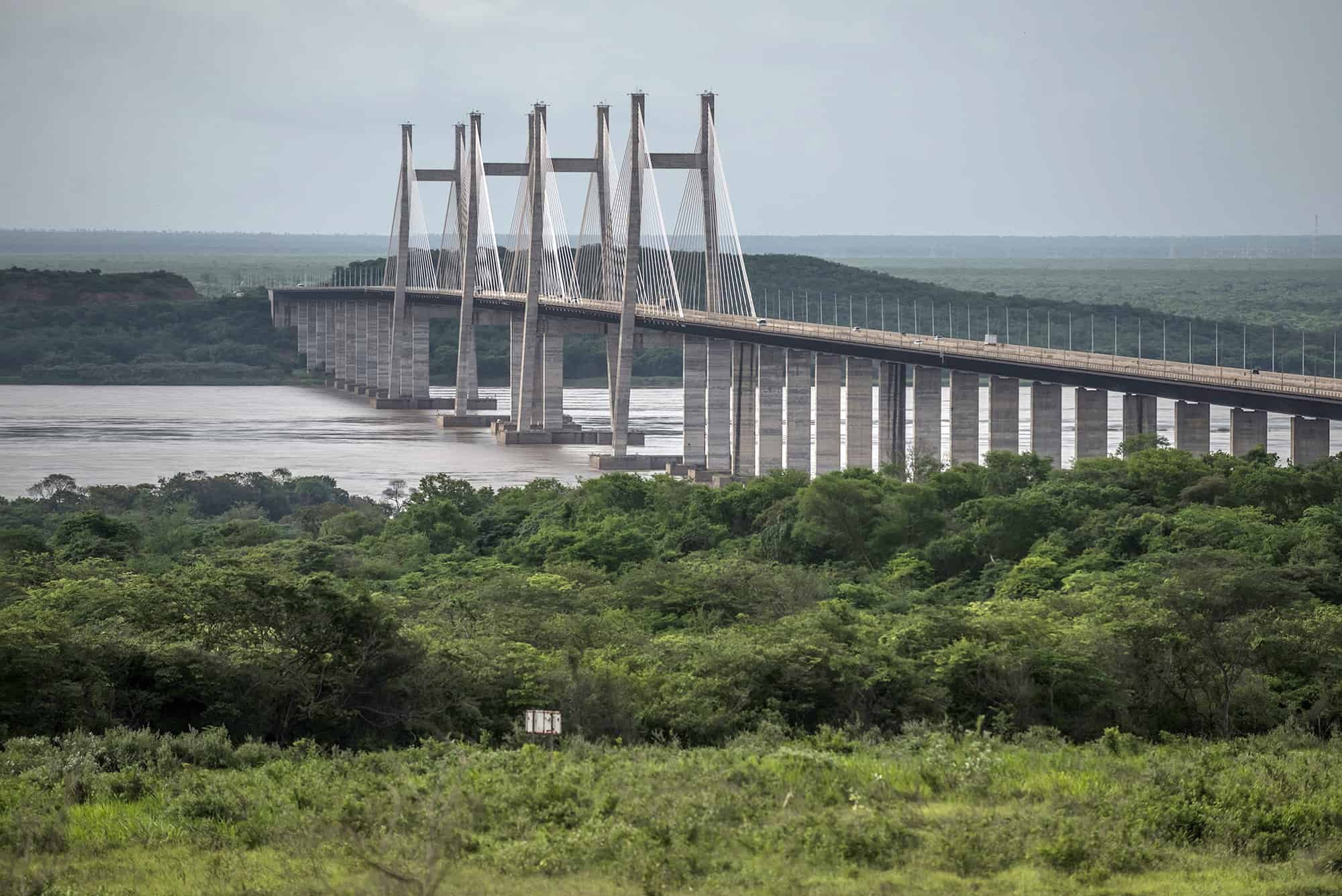 The $1.2 billion Orinoquía Bridge in Ciudad Guayana, Venezuela.