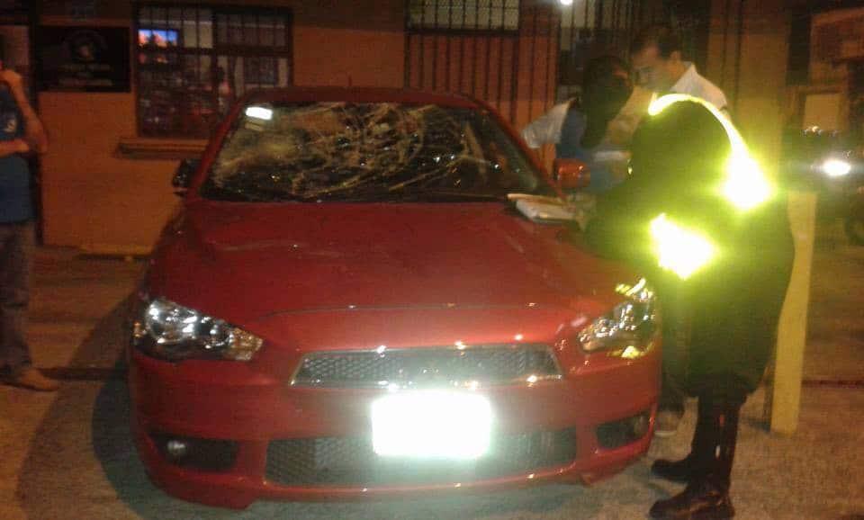 Uber car destroyed | Costa Rica politics