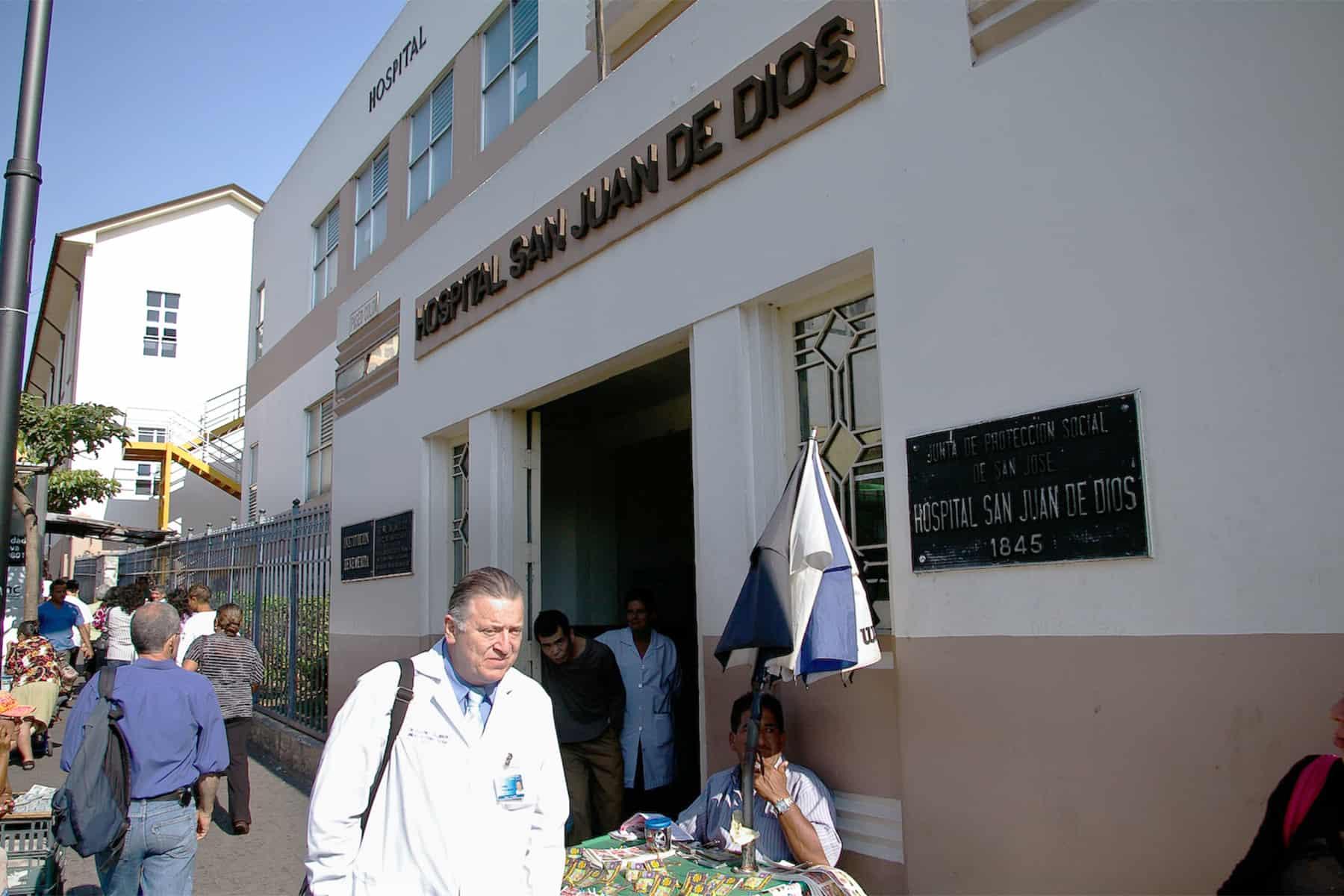 San Juan de Dios Hospital, San José