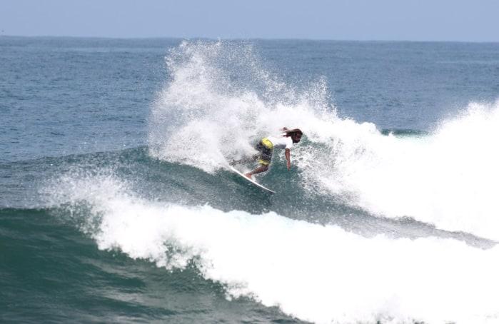 Gilbert Brown competes at Roca Loca.