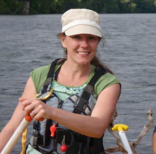 Denielle Perry led rafting tours on the Pacuare and Reventazón in the 2000s.