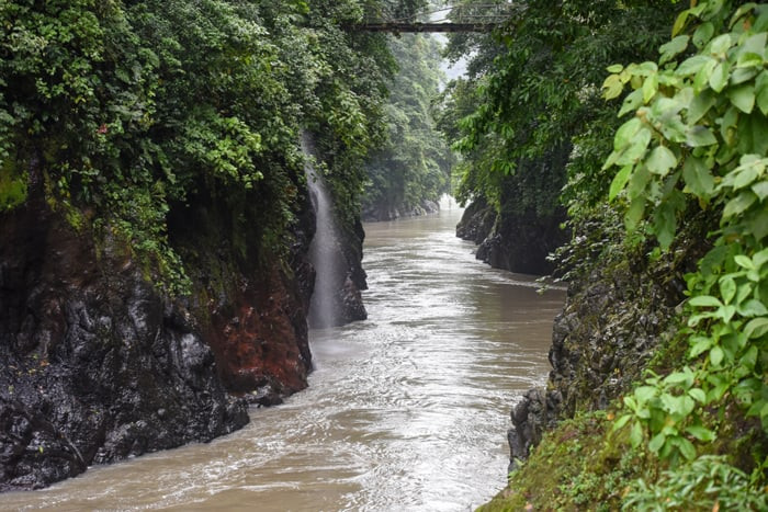 The Dos Montañas gorge of the Pacuare River was once considered the ideal place for a dam because it was so narrow.
