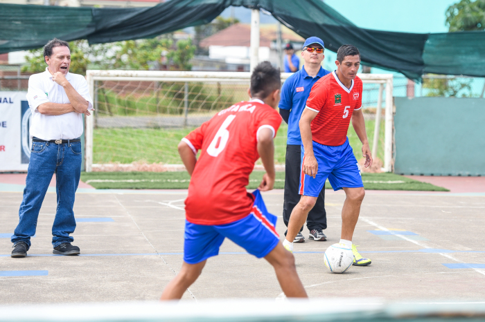 José Luis Monge Fernández (far left) created Costa Rica's homeless football team seven years ago in an effort  to change the fortunes of the country's marginalized.