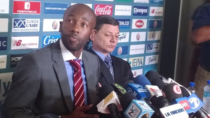 Paulo Wanchope confirmed his resignation as head coach of Costa Rica's national football team at a press conference in Proyecto Gol on Wednesday, August 12.