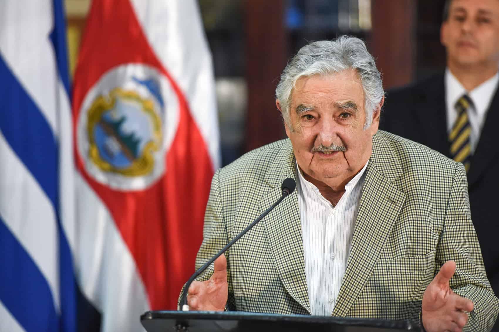 "Former Uruguayan President José ""Pepe"" Mujica at Casa Presidencial on Aug. 19, 2015."