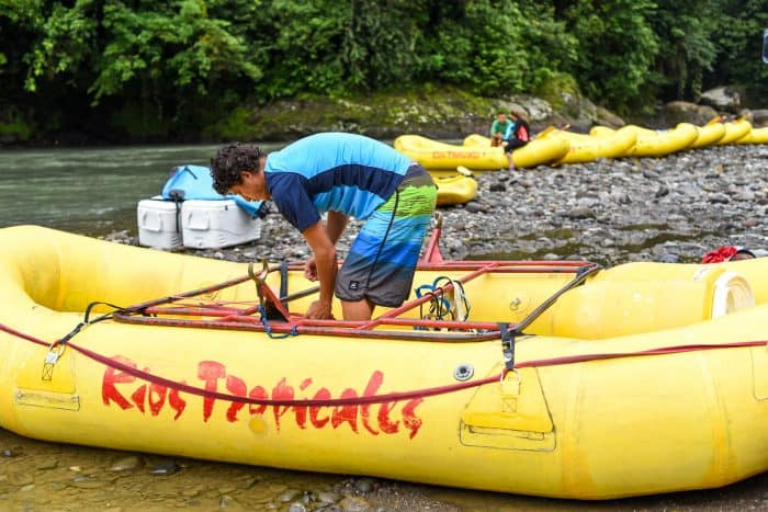 Ríos Tropicales is one of the largest rafting companies in Costa Rica, where the most popular float is the Pacuare River.