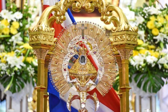 Costa Rica celebrates Virgen de los Ángeles Day