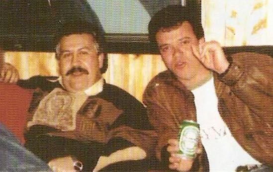 Pablo Escobar and John Jairo Velázquez Vásquez.