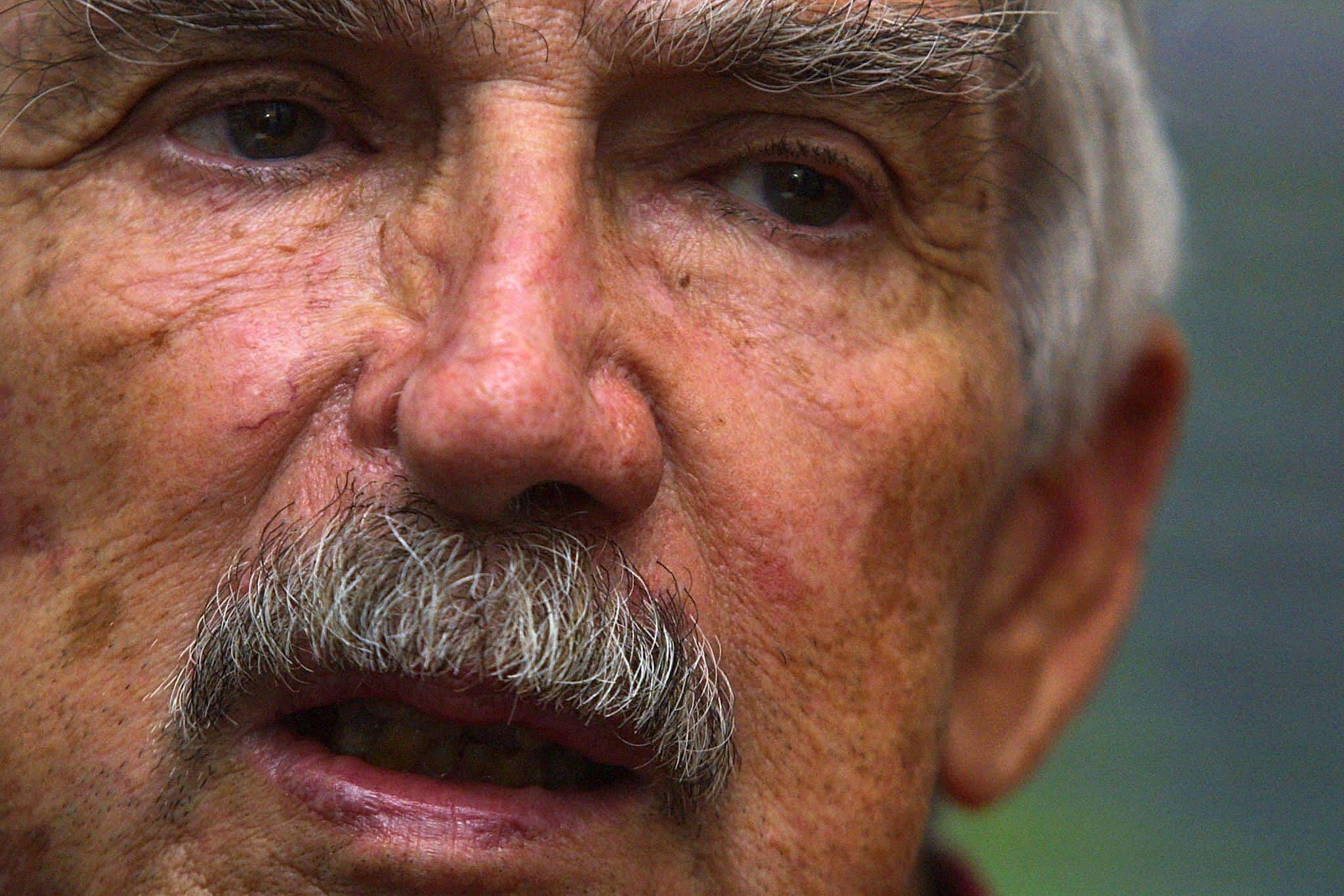 Luis Posada Carriles speaks to AFP on May 19, 2003.