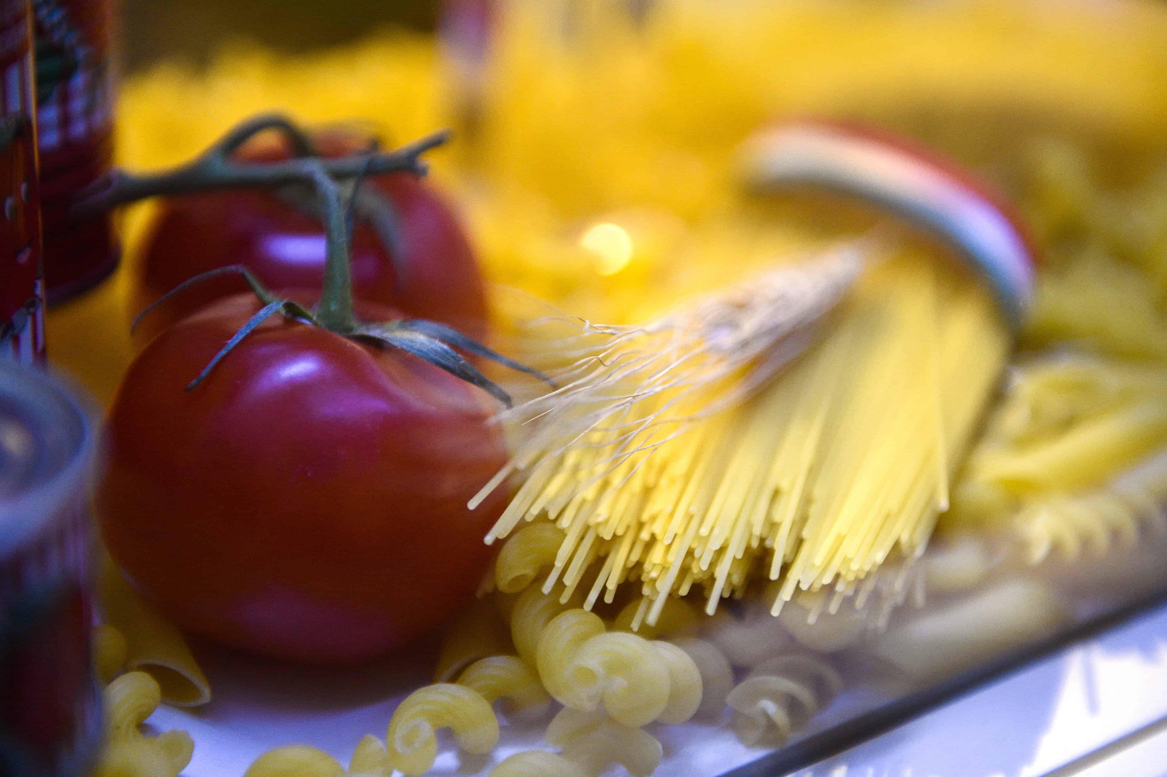 A fancy pasta photo.