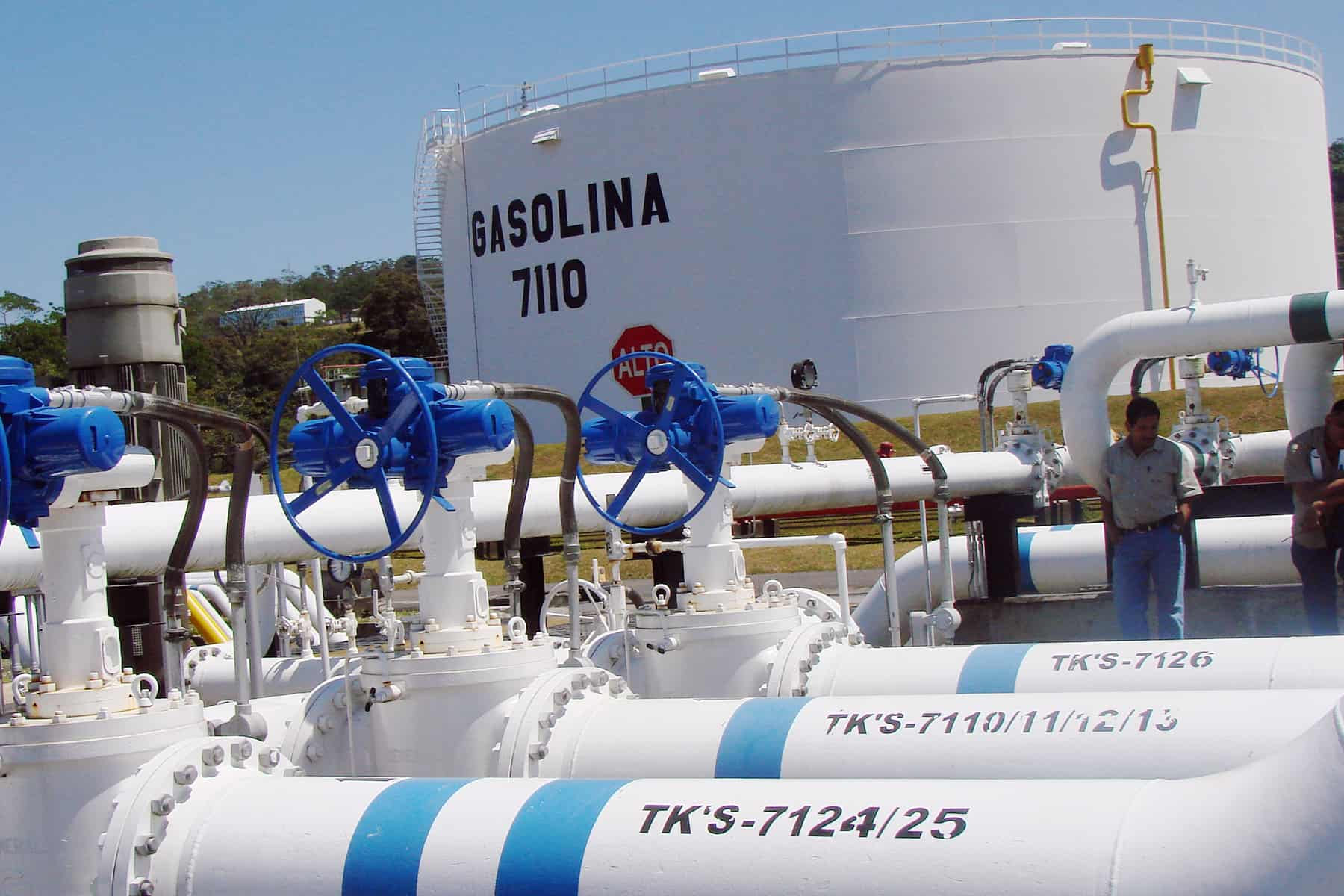 Fuel tanks at RECOPE