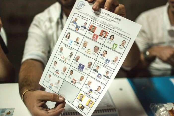 In Guatemala's general elections on Sunday, 14 presidential candidates competed on the ballot. For many Guatemalans, none were considered good options in light of ongoing corruption scandals.