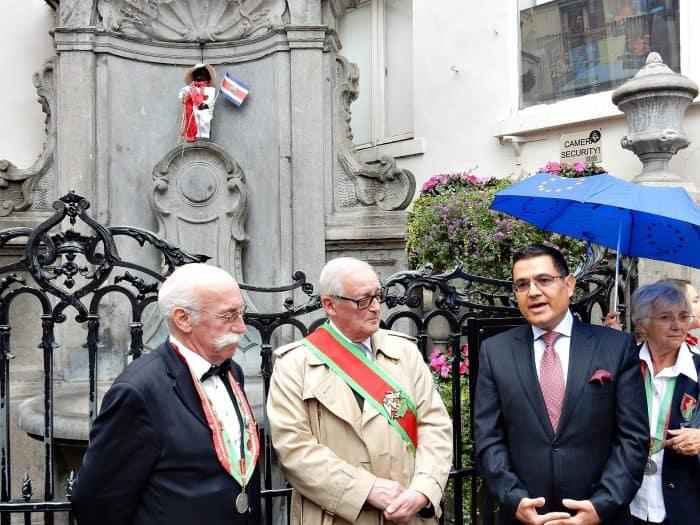 Costa Rica's Ambassador to Belgium Alfaro Solano