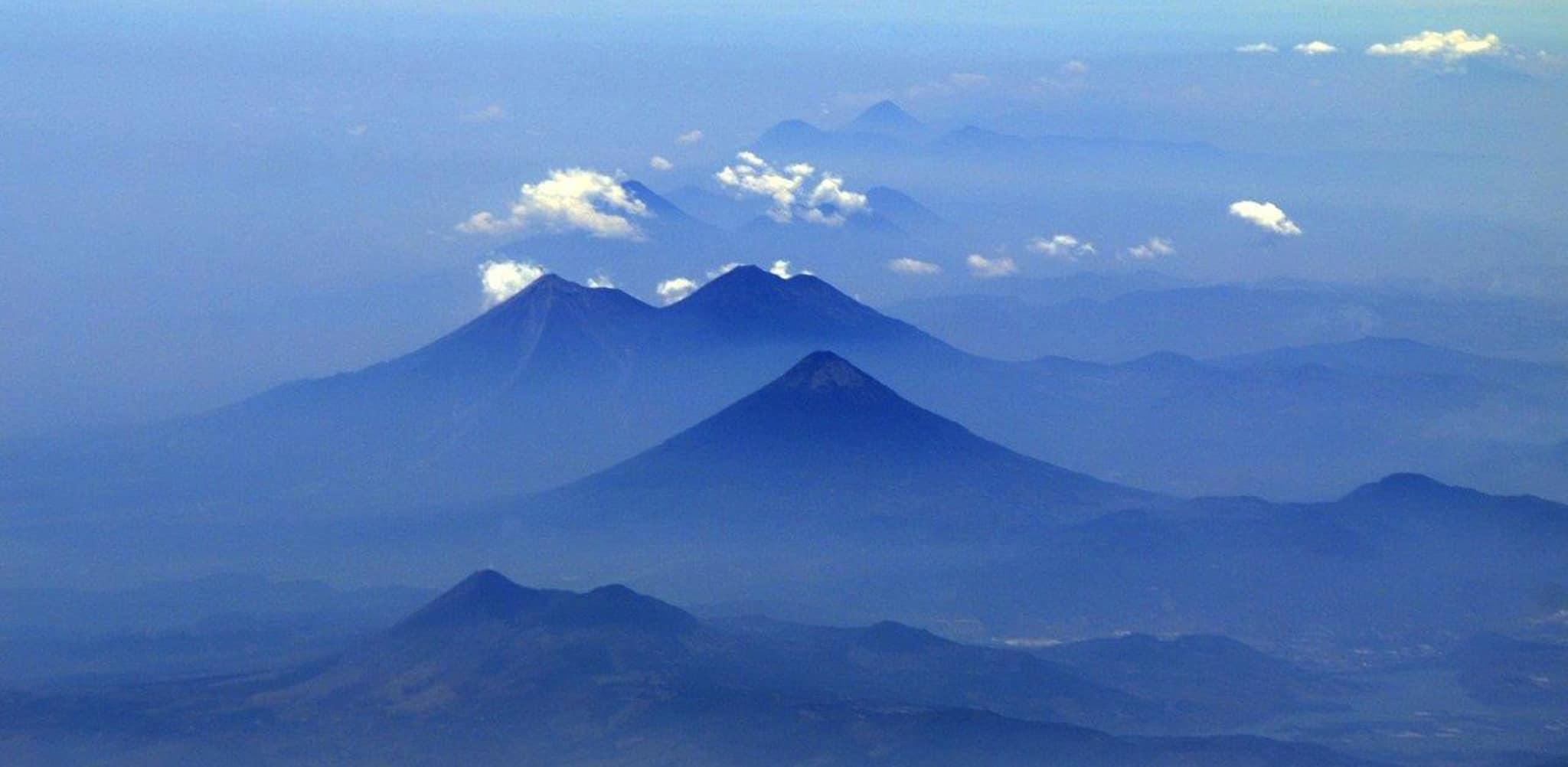 A NASA photo of Guatemala, Central America.