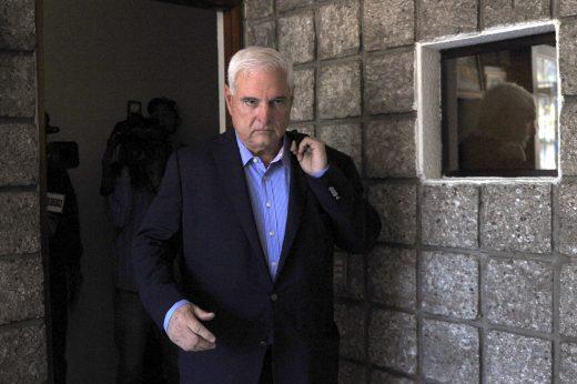 Panama ex-President Ricardo Martinelli