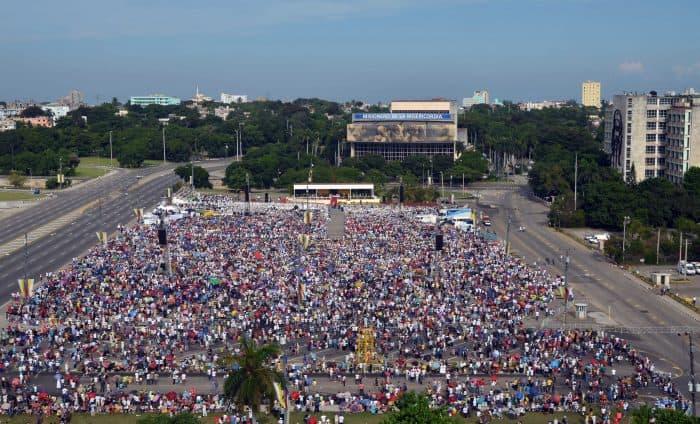 Pope Francis in Cuba.