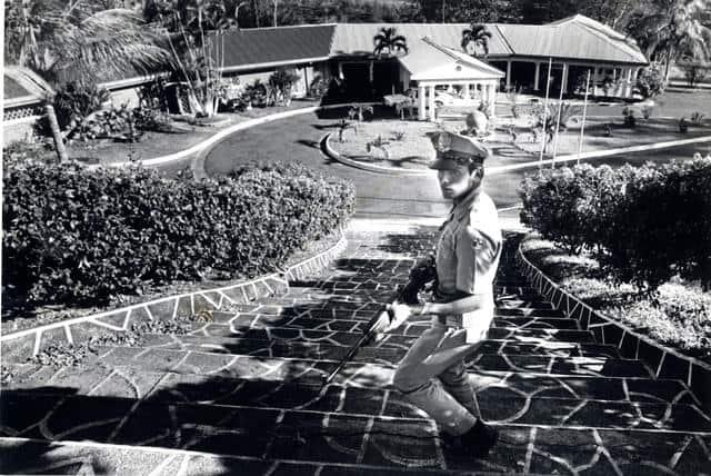 The Costa Rican mansion where drug kingpinRafael Caro Quintero was arrested in 1985.